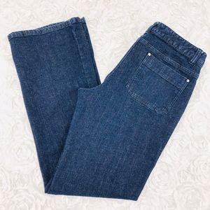Michael Kors Toggle Straight Leg Jeans